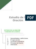 Estudio de La ORacion Mat 2010 Sample