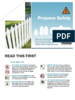 Propane Safety Brochure