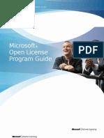 Open License Program Guide