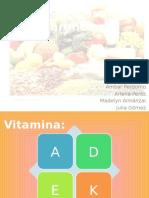 Deficiencia de Vitaminas Liposolubles