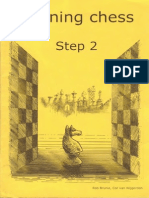 Learning Chess - Workbook Step 2 (Chess-Steps- Stappenmethode- The Steps Method- Workbook Volume 2)