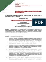 Ley de Desarrollo Social para el estado de Oaxaca