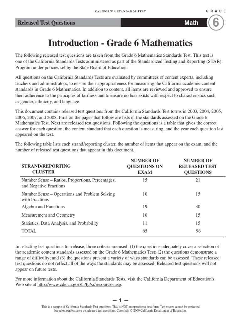 Math Grade Six   Division (Mathematics)   Area