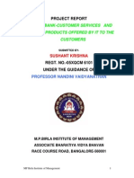 ICICI Bank Services and Their Products Offered by It to the Customers