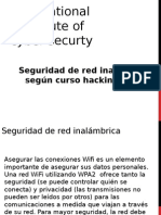 Seguridad de Red Inalambrica Segun Curso Hacking Etico