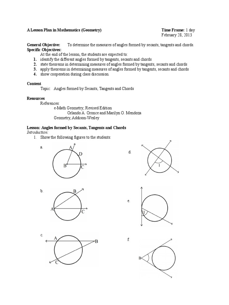 Angles formed by secants tangents and chords trigonometric angles formed by secants tangents and chords trigonometric functions angle hexwebz Choice Image