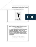 Posture and Scoliosis- Flexibility and Function