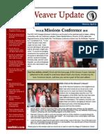 Weaver Newsletter January 2015