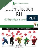 Externalisation RH - Guide Pratique Et Questions Clés - T. CHARDIN & P. BOUVARD - EYROLLES