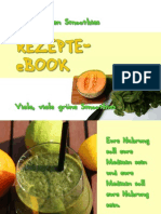Green Smoothie Re Zep Tee Book