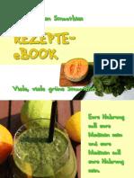 Green Smoothie Re Zep Tee Book