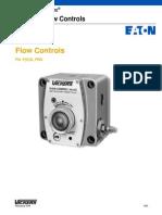 Válvula Control de Flujo - Series FN - F(C) y FRG