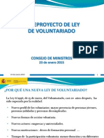 Ley Del Voluntariado 230115