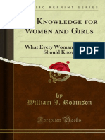 Sex Knowledge for Women and Girls 1000013015