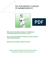 Mammography Leaflet