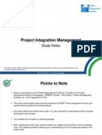 StudyGuidesPDF PMstudy Project Integration Management Integration Management