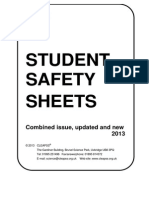 CLEAPSS Student Safety Sheets 2013