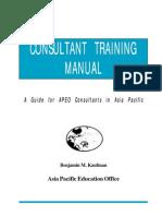 Consultant Training Manual