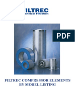 Filtrec Air Filtration by Compressor Model 2012