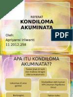 Kondiloma Referat Fix