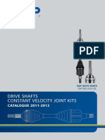 CV Joints Drive Shafts 2011