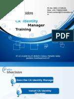 CA Identity Manager Training 21st Century +917386622889.ppt