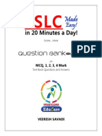 Sslc Question Bank TEXTBOOK ONLY