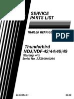 62 02354 01 Thunderbird NDJ&NDF