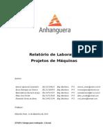 ATPS Projetos de Máquinas 2014 1 Bimestre