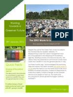 707 Zero Waste to Landfill