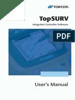 TOPCON TOP_SURF - Manual de Utilizare