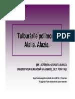 c8 Tulburările Polimorfe Alalia Afazia