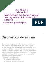 Diagnosticul de Sarcina