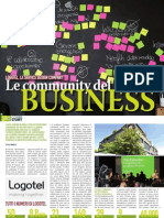Le Community del Business - Cover story