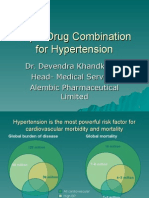 Triple Drug Combination for Hypertension