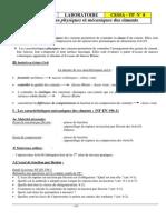 TP8 Ciment Traction Flexion Mv Blaine Laboratoire Materiaux