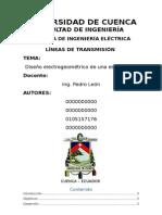 Diseño esctructuras lineas de transmision