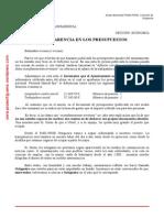 LVO28012015_Transparencia en Los Presupuestos