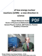 Studies of low-energy nuclear reactions (LENR) - a new direction in science