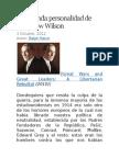 La Segunda Personalidad de Woodrow Wilson