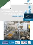 British Water - Code of Practice for Food Industry