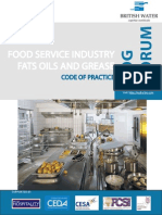 British Water - Code of Practice for Food Industry