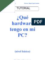 ¿Qué hardware tengo en mi PC? (básico)