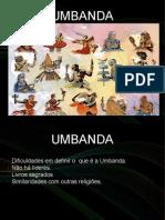 Apresentação sobre a Umbanda