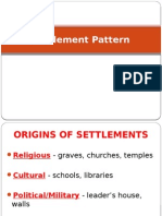 Settlement Pattern