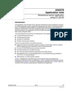 Temperature Sensor Application