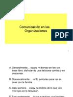 Comunicacion en las Organizaciones.ppt