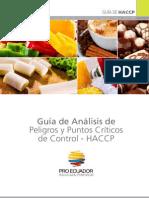 Guia HACCP - Analisis de peligros y puntos criticos de control