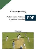 Presentation Richard Halliday