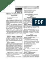 Reglamento del Sistema Nacional de Plaguicidas de Uso Agrícola